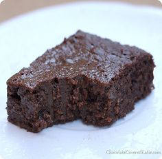 Double Chocolate Brownies - my favorite brownie recipe http://Chocolatecoveredkatie.com/2014/01/30/chocolate-guinness-brownies/