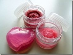 homemade blush made from beet powder, strawberries, and olive oil