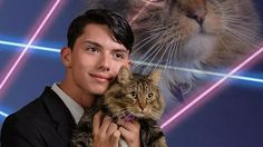 Teen gets school to agree to put 'glorious' cat photo in yearbook