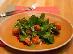 As seen on #TheKitchen: Butternut Squash and Watercress Salad with Champagne Vinaigrette #Seasonal #ButternutSquash