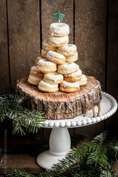 gingerbread donut tree