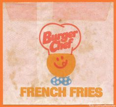 Burger Chef Fries - 1970s