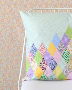 Diamond Patchwork Pillow Cover for Your Sweet Home | deconoHut