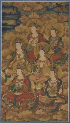 Bodhisattvas of the Ten Stages of Enlightenment, 1454 China, Ming dynasty (1368-1644)