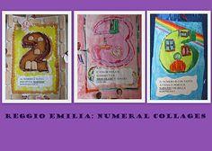 Reggio - Numeral Collages