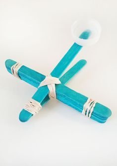 DIY Popsicle Stick Catapult , Kid Friendly Friday—How I keep my busy little boy busy: Little Paper Dog