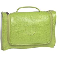 Toiletry Kit by Alicia Klein, available in Lime and Purple. lime