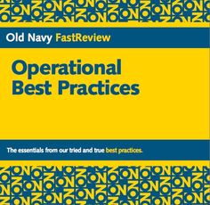 FastReview: A cliff-notes guide for executing store best practices. Gleaned content from large training manuals and condensed highlights into pocket-sized manual.