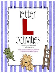 Letter L Activities abc, preschoolteach idea, preschool letter, 123, lettersound preschool, alphabet, preschool idea, activ, kiddo
