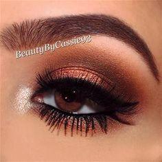 Bronze Smoky Eye