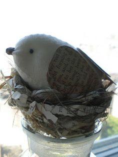 Todolwen: My Wee Bird Tutorial ~ Ready At Last!! tutorial