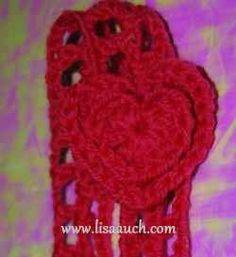 Crochet hearts, easy to follow instructions.