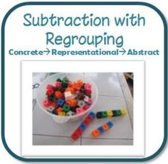 My 2nd grade teachers swear by this unit!!  If you are apprehensive about teaching subtraction with regrouping, this is the product for you!!  $2.99