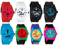 neff daily watches