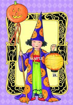 Halloween art by Mary Engelbreit.