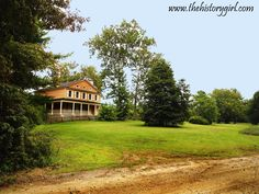 Atsion Mansion, constructed in 1826. Located in Wharton State Forest, Shamong, NJ. Learn more at www.thehistorygirl.com