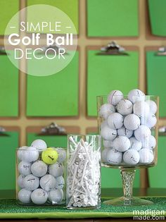 Golf Themed Decorations