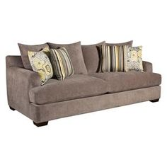 Gray Microfiber Sofa | Nebraska Furniture Mart