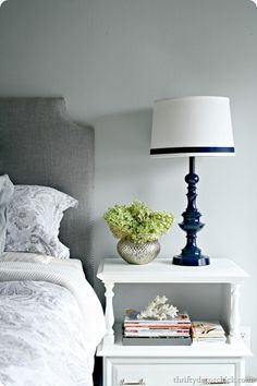 how to spray paint a brass lamp