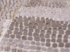bisque stamps for pottery
