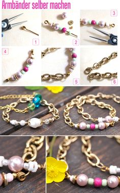 bracelets selfmade ♥ on Pinterest  79 Pins