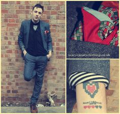 You're Gonna Find Someone, You don't have to rush it (by Ryan  Peters www.scarycanaryclothing.co.uk) http://lookbook.nu/look/2005920-You-re-Gonna-Find-Someone-You-don-t-have-to-rush-it