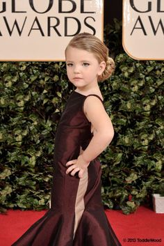 Golden Globes: Kid edition mini Taylor