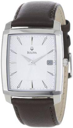 Bulova Men's 96B122 Silver Dial Strap Watch $84.64
