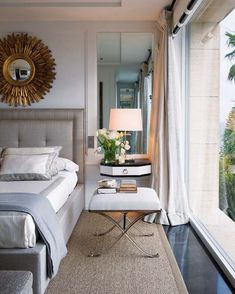 Lovely simple bedroom.
