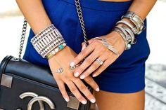 Jewelry: wren and glory wraps & Dixi bracelets