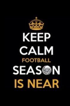 Keep Calm football!!