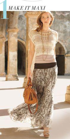 #maxi skirt  new dress #2dayslook #fashionstyle  www.2dayslook.com