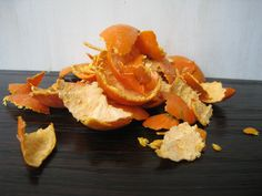 Tips for re-purposing orange peels. I'm gonna put them in my garden to keep the neighborhood cats out.