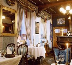 For the best traditional Czech cuisine, head to Prague's U Modré Kachničky (Little Blue Duck). This romantic restaurant offers a variety of local dishes prepared with fresh, seasonal ingredients. Their specialty? Duck, of course.