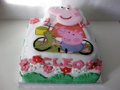 Peppa Pig cake #peppapig #cake