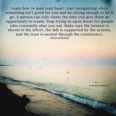 Lessons Learned in Life | Learn how to lead your heart.