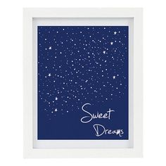 Sweet Dreams Print Typography Print Modern by ColourscapeStudios