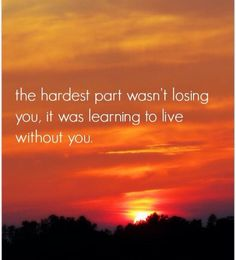 ....learning to live