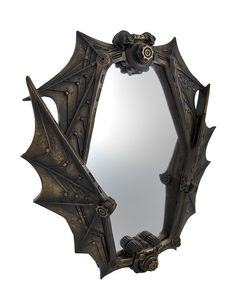 Amazon.com: Bronzed Steampunk Bat Wings Mirror: Home & Kitchen