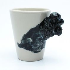 cocker spaniel ceramic mug