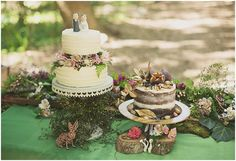 cake table, photo by Ronel Kruger Photography http://ruffledblog.com/south-african-wine-estate-inspiration #caketable #desserts