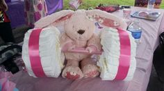 Weightlifting diaper cake! #crossfit #diapercake #crossfitbaby #babyshower #diapercake