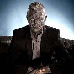 Is This The Most Tattooed Man To Ever  Run For President?
