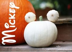 Mickey Mouse Halloween Pumpkin | Kim Byers, TheCelebrationShoppe.com