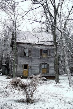 Old abandoned house.