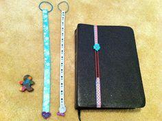 books, bookmarks, gift, crafti, craft idea, diy ribbon, ribbon bookmark, buttons, book mark
