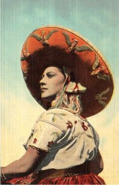 Yanez. Mexico. - for more of Mexico visit www.mainlymexican... #Mexico #Mexican #calendar girl #women