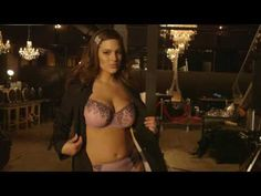 Behind the Scenes with sexy plus size model Ashley Graham during her commercial shoot for Addition Elle