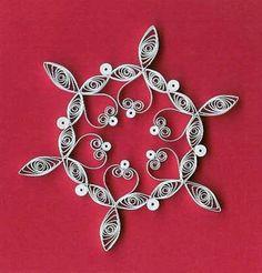 DIY Snowflake Ornaments.