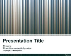#powerpoint #templates Free barcode design